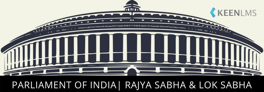 keen lms- lok sabha and rajya sabha